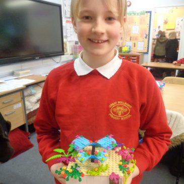 Matilda the builder!