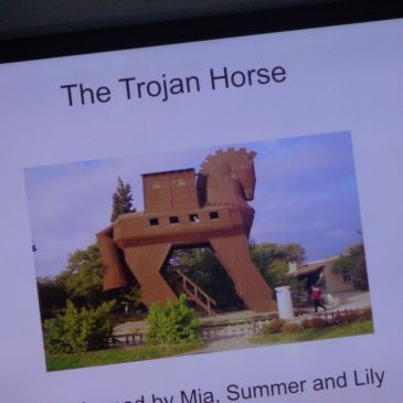 A Trojan show