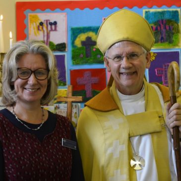 The Bishop of Dorchester comes to Rollright!