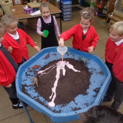 Chemical Reactions - Erupting Volcano!