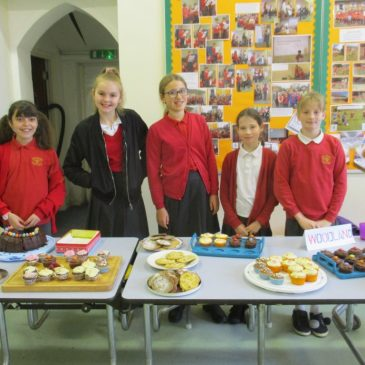 The School Council Charity Cake Sale