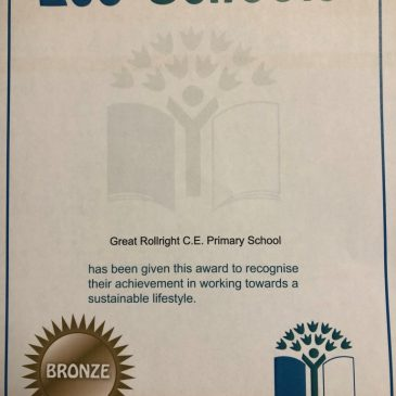 Achieving our Bronze Award!