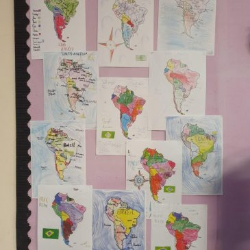 Brazil Map Work