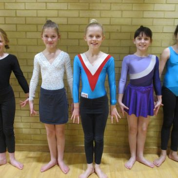 West Oxfordshire Key Steps gymnastics competition