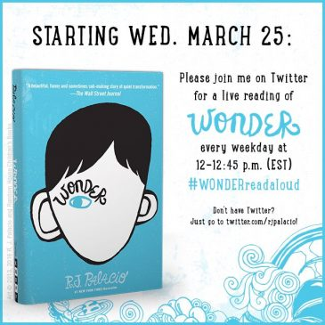 Listen to 'Wonder' being read aloud