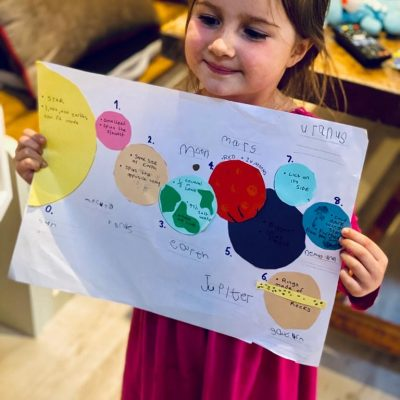Willow's home learning