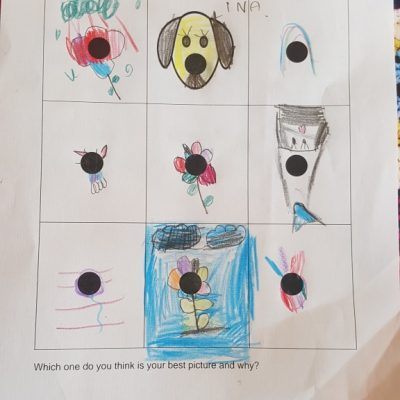Lina's home learning