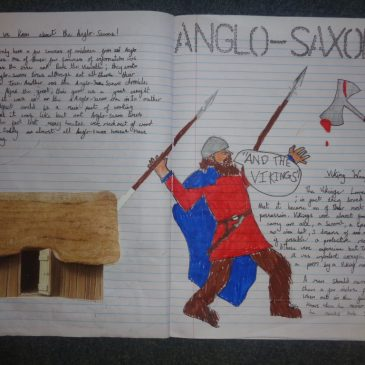 Anglo-Saxon double-page spreads!