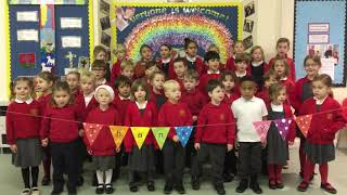 A Thank you from the children to the Friends of Great Rollright